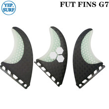 Surfboard Fins Future G7 Fin Honeycomb Surfboard Fin Black and White color with logo surfing fin умный браслет rover rovermate fin 01 black camouflage gpb07660