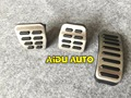 Stainless steel Car Pedals Cap Accelerator Brake Cover MT For VW Polo Golf 4 Jetta MK4 Bora