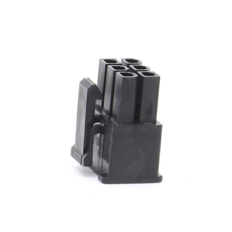 6p Molex 4.2 Pitch Plug Connector Connector 5557 Male Housing Black Computer ATX Power Car