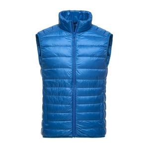 Image 5 - Brand 90% Duck Down Vest Ultra Light Duck Down Waistcoat  Sleeveless Jacket autumn Winter Coat J0029