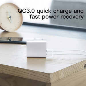 Image 3 - Baseus Usb Charger Quick Charger 3.0 Adapter 5A EU US Plug Fast Charging Travel Wall Charger For iPhone for Samsung for Xiaomi