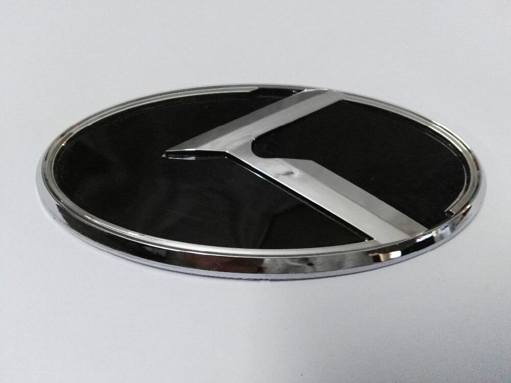7Pcs//Set 3D Black Carbon Logo Badge Emblem Sticker For KIA Forte YD K3 2014-2015