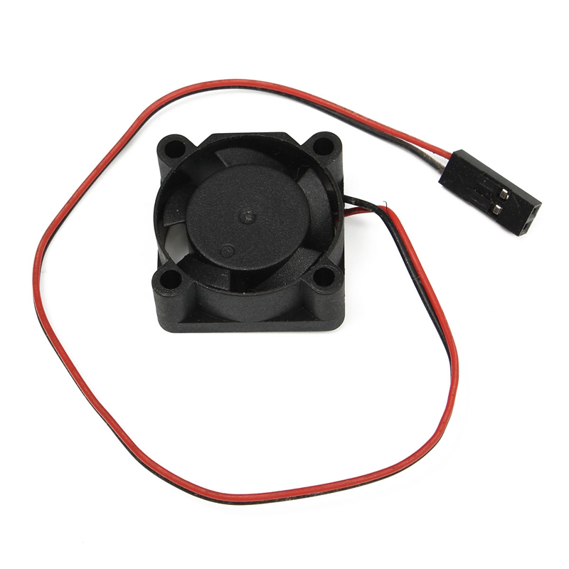 Hobbywing  5V -7V 150A DC Cooling Fan For RC Model Motor ESC 25mm 30mm 40mm Power Transfer 25mm x 25mm brushless cooling fan for esc motor black