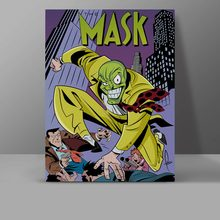 I Am The Mask Guy Not Super Hero Canvas Retro Movie Manga Comics Painting Wall Pictures Office HD Print Home Decor