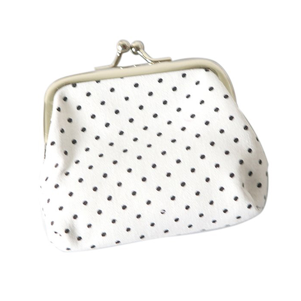 VSEN Wholesale Popular Cute girls Wallet Clutch Change Purse key/coins bag Mini Handbag Pouch White