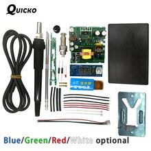 QUICKO STC T12 LED デジタルはんだステーション DIY キット ABS プラスチックシェル新コントローラーの使用 HAKKO T12 ハンドル振動スイッチ
