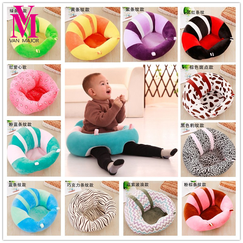 New Baby Plush Toys Portable Seat Kids Feeding Chair Booster Seat Safe Seat Education Feeding Seat Baby Toy Sofa KidsGifts baby anti rollover safety seat portable waist stool children small sofa cartoon plush nursing feeding pillow learn to sit sofa
