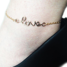 Fashion Accessories foot jewelry love charm Anklets nice gift for women wholesale