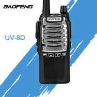 Two Way Radio BaoFeng BF-UV8D Walkie Talkie UHF 8 W 128CH DTMF Dual PTT FM Transceiver