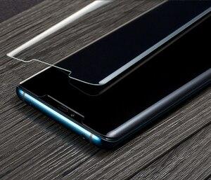 Image 5 - Colle UV liquide verre trempé pour Huawei Mate30Pro Mate40 Pro P30 Pro P40 Pro protection décran UV pour Samsung note 20 ultra