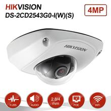 Hikvision 4MP Dome Audio Wifi IP Camera PoE Onvif Home/Outdo