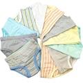 9 Unids/lote 100-Kinds Estilo Niños Niñas niño Bebé Ropa Interior de Algodón Orgánico Niño Niña Bragas Pantalones Cortos Para Niños Ropa 2-8y