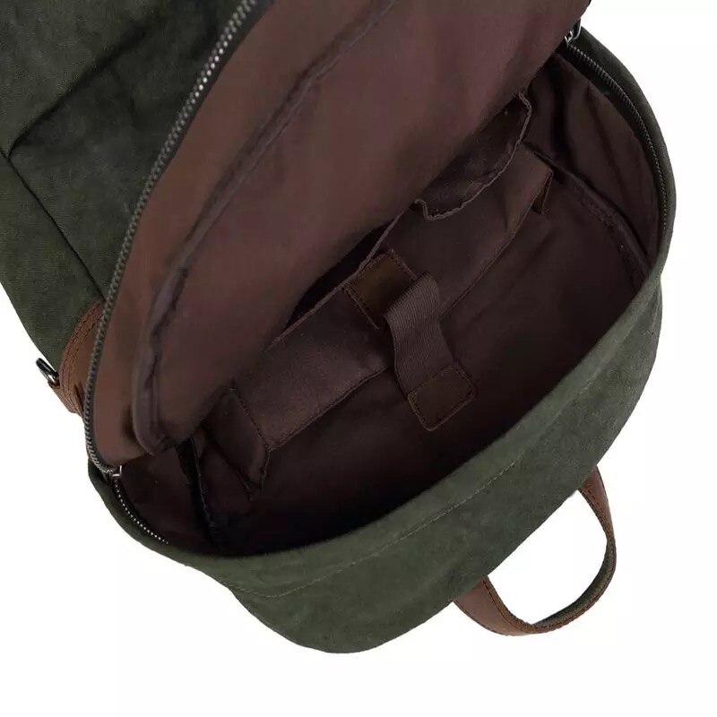 retro da lona dos homens Luggage Trends : Backpack