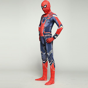 Image 5 - Dzieci Spiderman Homecoming Cosplay kostiumy Iron Spiderman kostium daleko od odzież domowa kombinezony