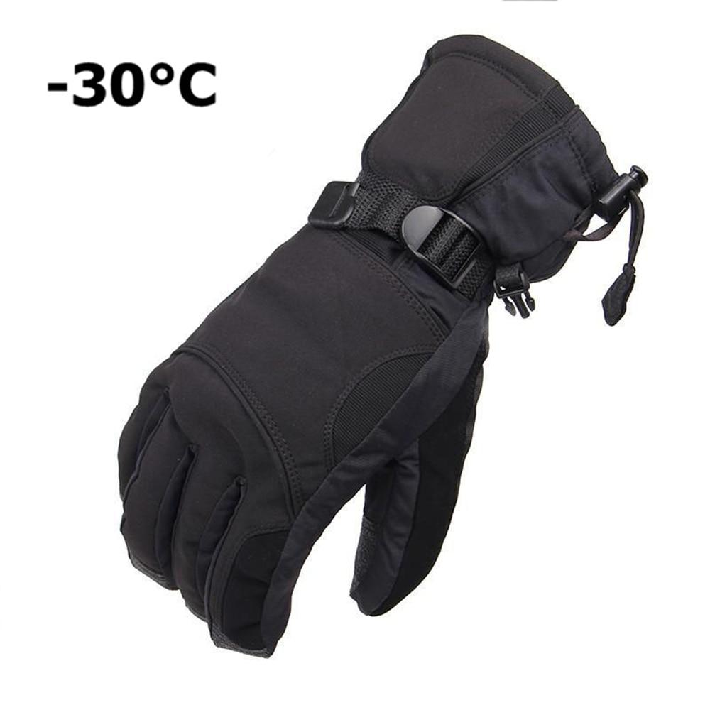 Mens ski gloves xxl - New Brand Men S Ski Gloves Snowboard Gloves Snowmobile Motorcycle Riding Winter Gloves Windproof Waterproof Snow Gloves