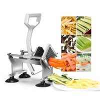 Commercial High Quality French Fry Cutter Potato Chips Strip Cutting Machine Stainless Steel Fruit Slicer Vegetable Chopper Tool
