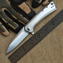 59-61 HRC Hardness Folding Knife D2 Blade Pocket Survival Knife Tactical Hunting Camping Knives Outdoor Tools KN207