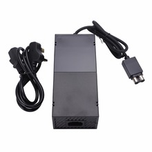 цена на Mayitr UK Plug Power Supply Cable Cord Professional Replacement AC Power Charger Adapter For Xbox One