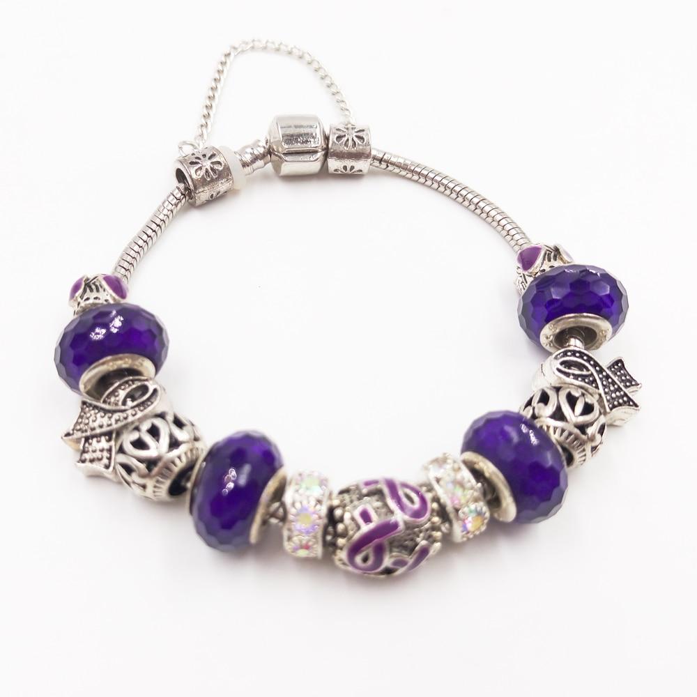 Sue Phil Nuevo 2018 mujeres pulsera de plata de moda galvanoplastia serpiente China Linda pulsera de cristal envío de la gota