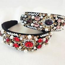 Women Lady Sequins Fashion Metal Rhinestone Head Chain Jewelry Headband Hairband crown wedding Accessories