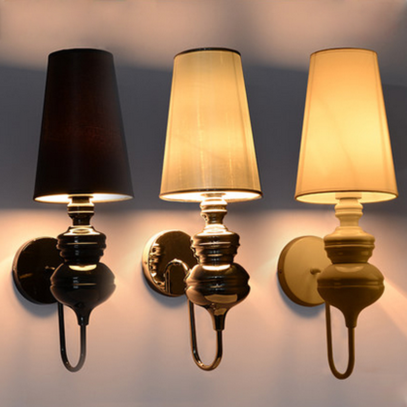 light lamp shade Picture - More Detailed Picture about Modern brief bedroom study wall lights ...