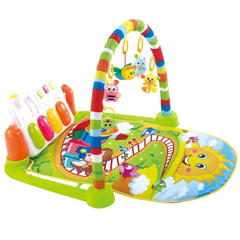 Bebê Ginásio Puzzles Mat Rack De Brinquedos