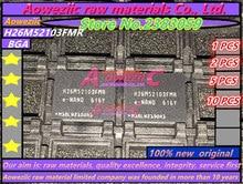 Aoweziic 100% ใหม่ Original H26M52103FMR BGA ชิปหน่วยความจำ H26M52103FMR E NADN