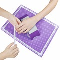 1Set Nail Art Equipment Silicone Plastic Pillow Hand Holder Cushion Table Mat Pad Foldable Washable Salon Manicure Tool