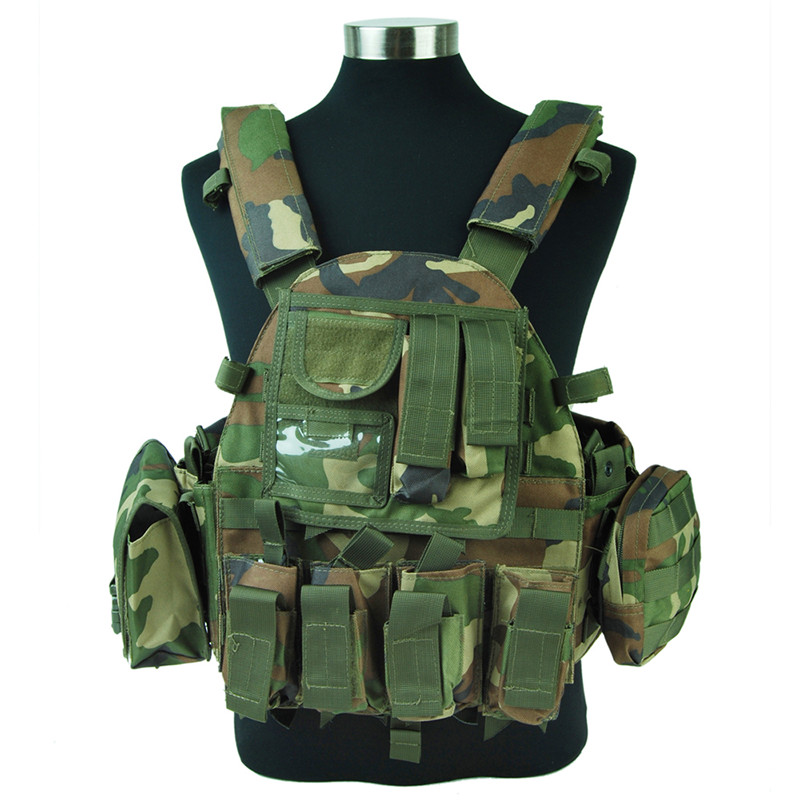 Tactical LBT 6094 Military vest 1000D Nylon vest Army Navy Seals Molle Hunting Paintball CS Wargame Woodland spanker 1000d camouflage tactical molle tank mechanic chef cooking grilling apron army training hunting waterproof nylon vest