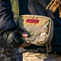 OneTigris Military MOLLE Admin Pouch Tactical Multi Medical Kit Bag Utility Tool Belt EDC Pouch For