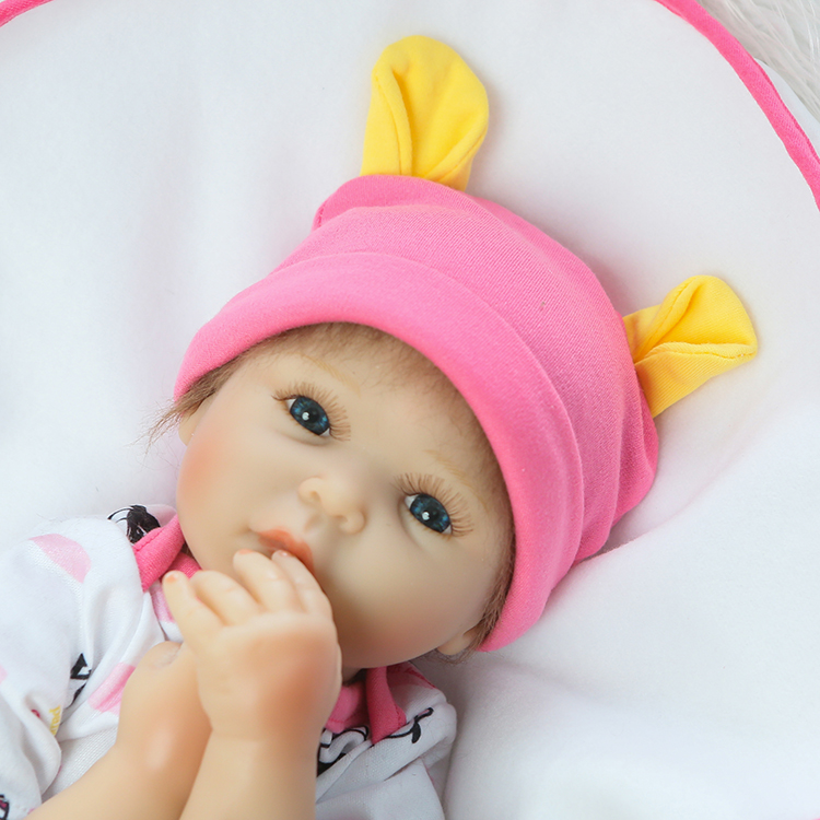 Soft Body Silicone Reborn Babies Doll Toy For Kids 50cm Lovely NewBorn Girl Baby Fashion Birthday Gift To Child Bedtime Toy 50cm soft body silicone reborn baby doll toy lifelike baby reborn sleeping newborn boy doll kids birthday gift girl brinquedos