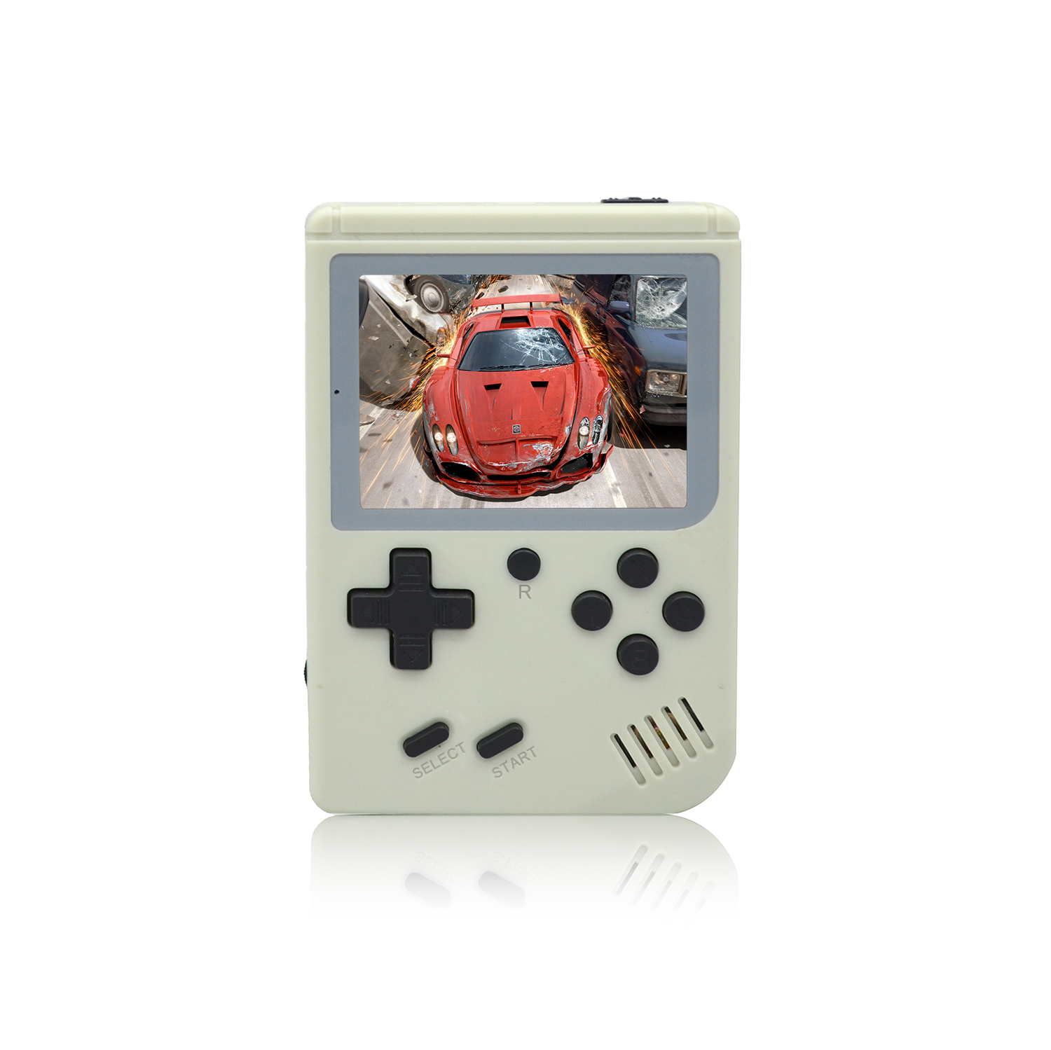 Children Retro Mini Portable Handheld Game Console Players 3.0 Inch Black 8 Bit Classic Video Handheld Game Console RETRO-FC 07
