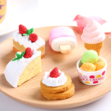 Japan IWAKO Cute Puzzle Kawaii Eraser Blister Pack Set Novelty Dessert/Animal/Toy Collection Perfect Gift Creative Stationery