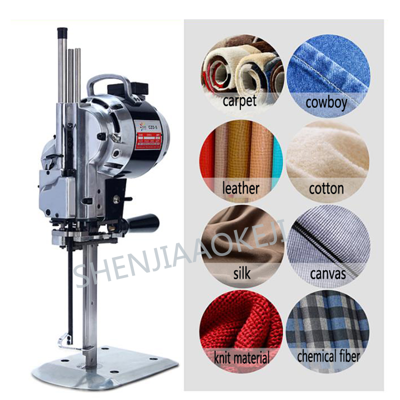 Straight knife electric cutting cloth machine Electric scissors Automatic knife cutting machine For all kinds of fabrics 850W