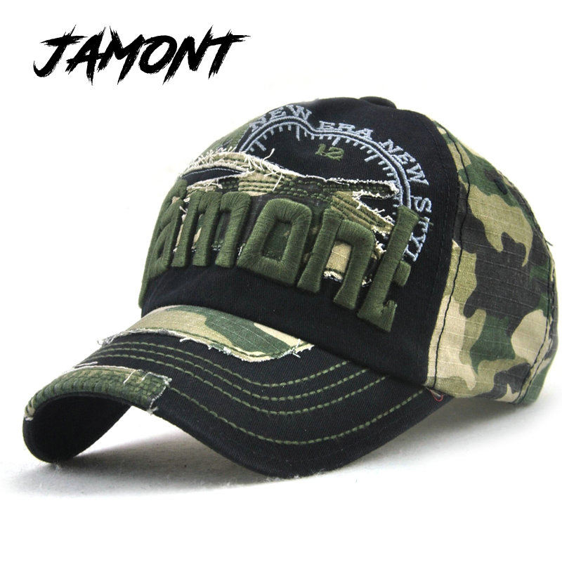 [JAMONT] Summer Fall Hat For Women Camouflage Baseball s