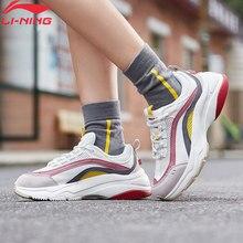 (كسر رمز) لى نينغ النساء أورورا WINDWALKER نمط الحياة الأحذية الرجعية بطانة لى نينغ أحذية رياضية الراحة أحذية رياضية AGCP108 YXB307