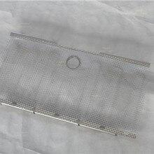 Автомобиль 3D сетка решетка гриль инсектициды дефлектор черный с отверстием для jeep Wrangler JK 06-17