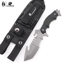 HX Outdoors Predator High Quality 440C Stainless Steel Camping Hunting Army Survival Knife Outdoor Tools 58HRC Tactical Knives цена 2017