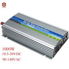 MAYLAR@ 1000 Вт Солнечный, внутрисетевой галстук микро инвертор мощности 10,5-28VDC 90-140VAC для система на солнечной батарее для дома