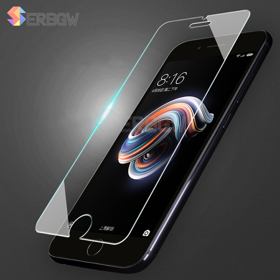 2.5D 9H Screen Protector Tempered Glass For IPhone 6 6S 5S 7 8 SE 4S 5 5C XR XS Max Toughened Glas For IPhone 7 6 6S Glass Film