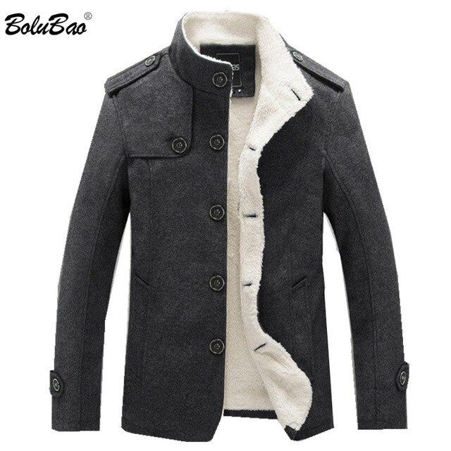 BOLUBAO Men Causal Brand Jacket 2019 New Cashmere Windbreaker Jackets Mens Outwear Flight Jacket Men's Jackets Coats Men's Jackets & Coats