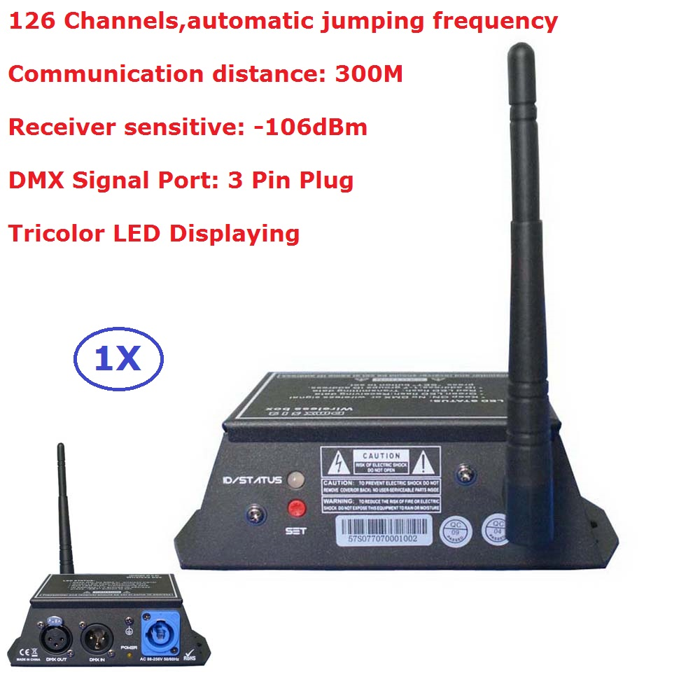 2.4G Wireless DMX 512 Controller Transmitter Receiver LED Display DMX Controller Repeater Disco Light Led Par Light Controller wireless dmx controller professional light controller wireless transmitter receiver 2in1 lcd display dmx controller