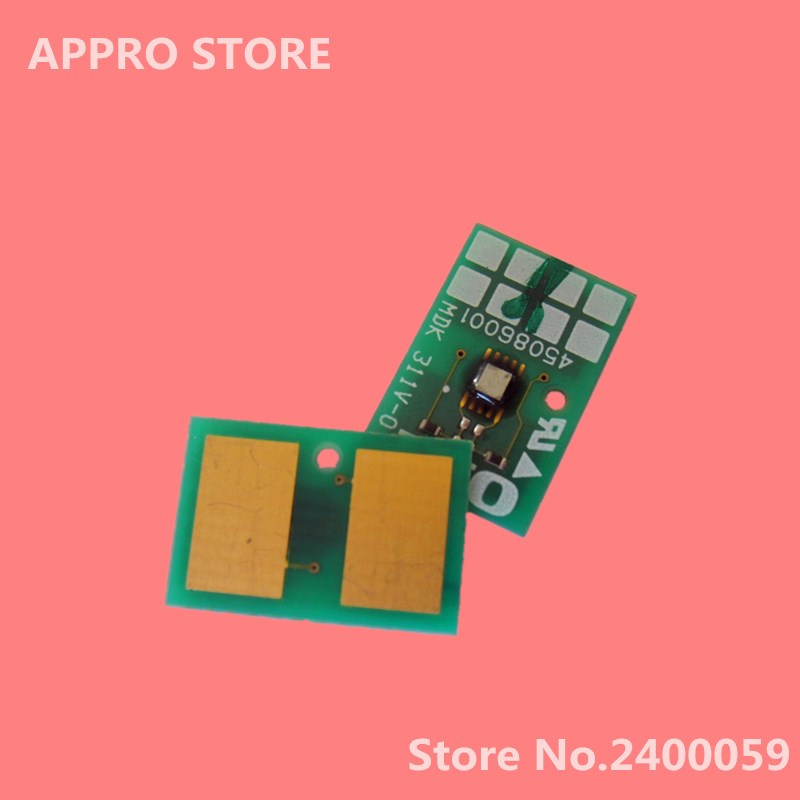 Drum White Chip  C931 C941 C942 C 931 941 942 for Oki Okidata C931dn C931DP White Image Unit Chip 45103729 45103735 compatible oki 44844408 45079804 44844407 reset drum chip for okidata c811 c831 c841 c 811 831 841 cartridge image chips