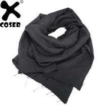 XCOSER Star Wars 7 Kylo Ren negro bufanda borla accesorios del traje Cosplay  de la manera bufanda de lana de alta calidad marca . 01e9ddcdbfa8