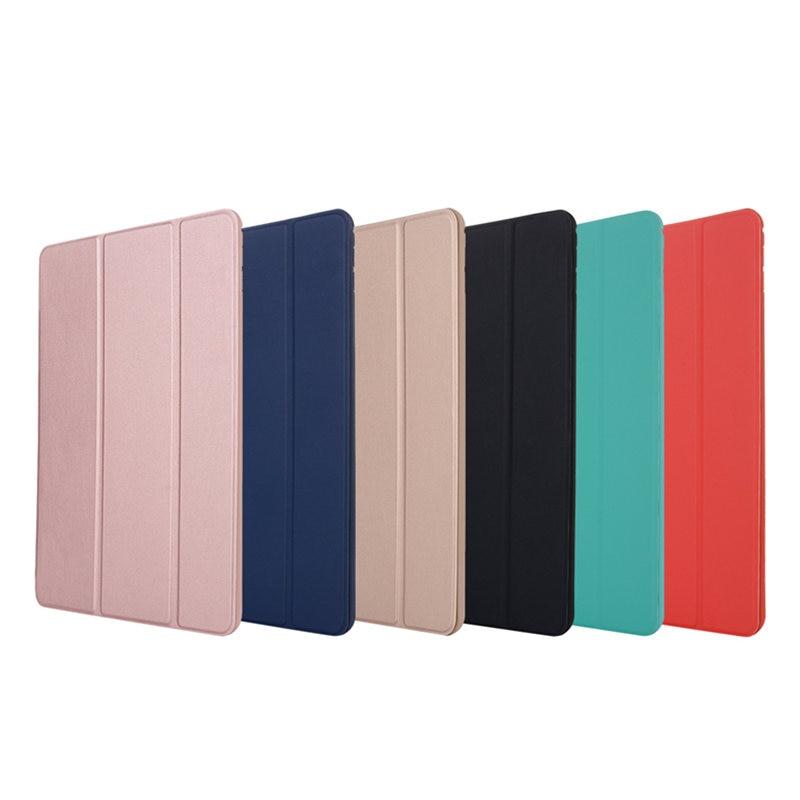 For iPad Mini 4 7.9 inch Case Silicone TPU Soft Back Slim Pu Leather Smart Cover for Apple iPad Mini4 Case Auto Sleep / Wake