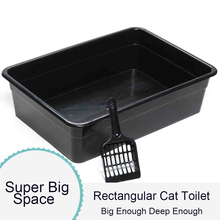 Large Litter Cat Toilet Sticker Bedpan Seat Cover Plastic Tray Large Clean Product Lettiera Gatto Chiusa Pets Supplies970Z2041
