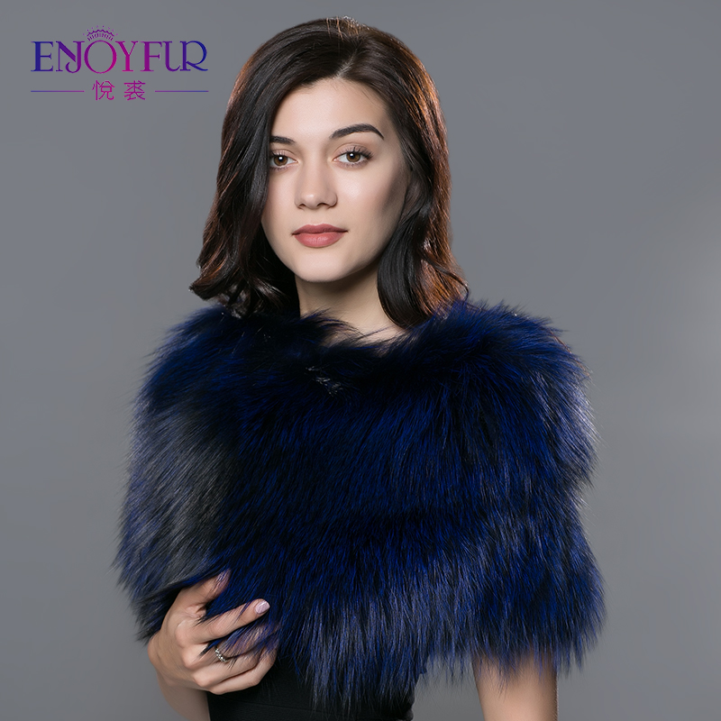 Useful New Scarves For Women Real Fox Fur Pashmina Shouder Warm Fur Shawl Knitted Bandana Good Quality Female Scarf Hot Sale Apparel Accessories