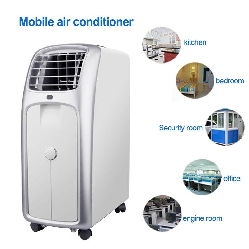 Climatiseur Mobile simple machine de climatisation domestique froide déshumidification verticale équipement portable 220 V