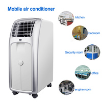 Mobile air conditioner Single cold household air conditioning machine vertical dehumidification portable equipment 220V