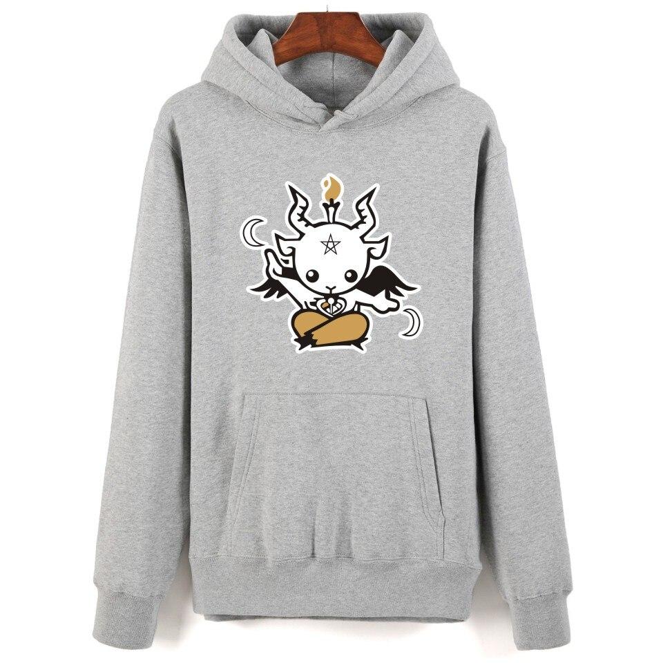 Helpful Satan Printing Cartoon Hoodies Men Hip Hop And Hooded New Brand Sweatshirt Men Clothes Fashion Autumn Style With 4 Colors Skillful Manufacture Hoodies & Sweatshirts